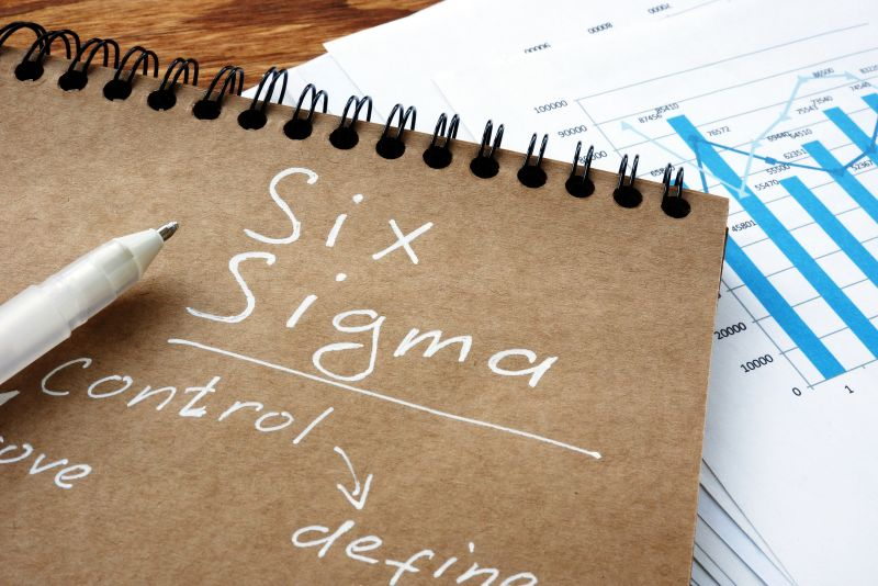 Six Sigma has its roots in the manufacturing industry and was initially developed by Motorola. The idea behind Six Sigma is to reduce defects and increase efficiency through a scientific process of removing variation.